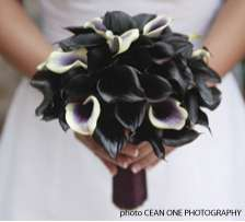Gothic Wedding Bouquets