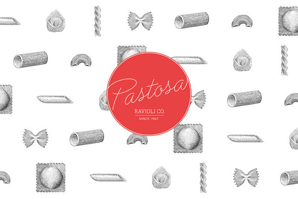 Authentic Italian Pasta Branding