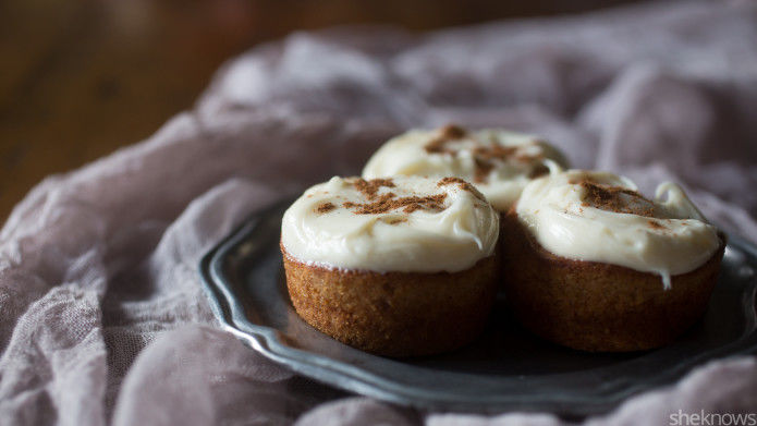 Spiced Latte Cupcakes