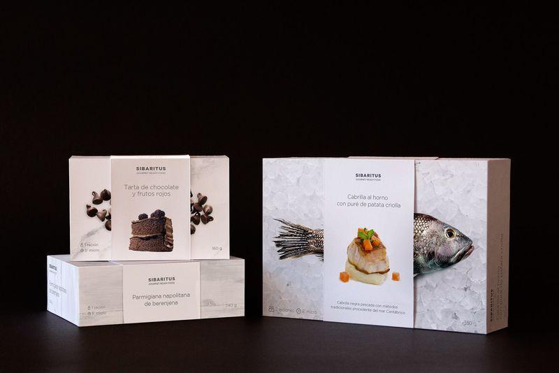 Gourmet Frozen Food Branding
