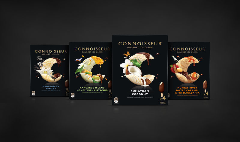 Gourmet Ice Cream Packaging