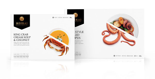 Gourmet Seafood Packaging