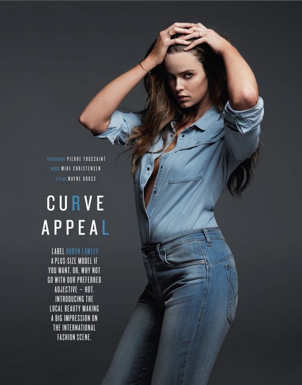 Seductive Denim Editorials