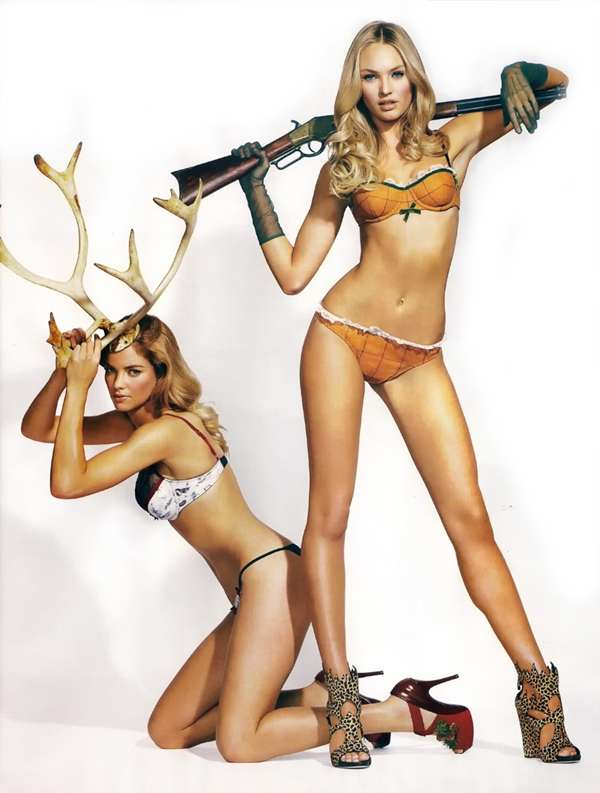 Lingerie Antlers