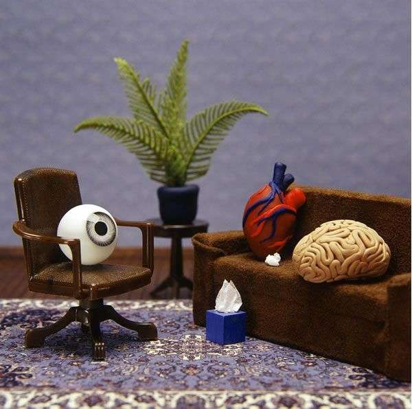 Psychologically Symbolic Dioramas