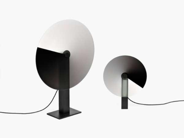 Rotating Disc Lampshades
