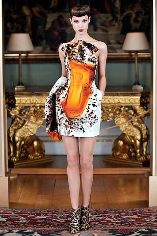 Color-Splattered Fashion