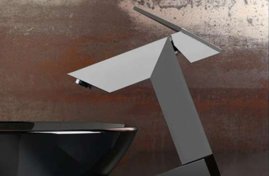 Angular Bathroom Taps