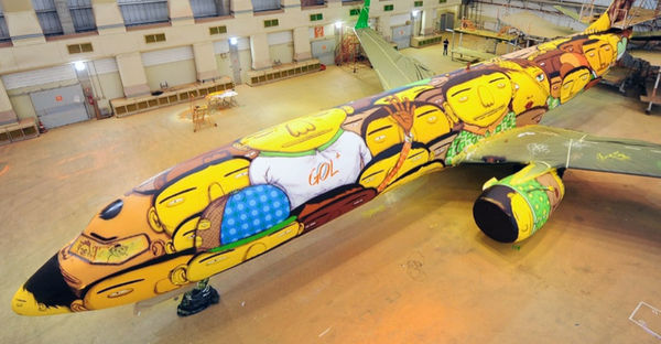 Graffiti Soccer Airlines