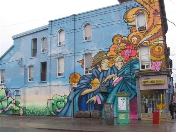 79 graffiti wall murals for Exterior wall mural