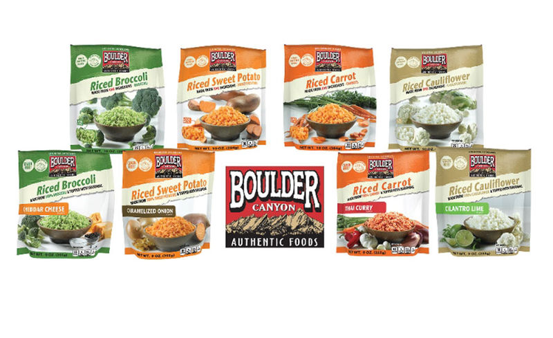 Vegetable-Based Rice Blends