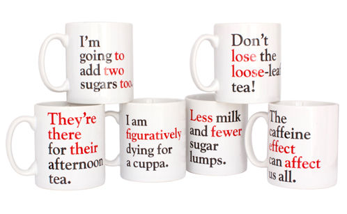 Silly Syntax Coffee Mugs