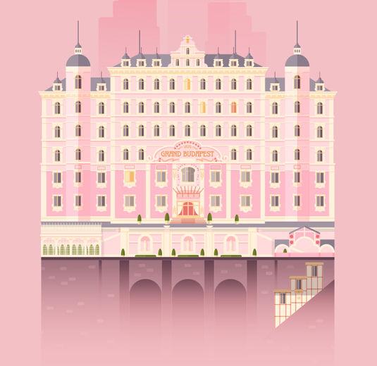 Pop Culture Hotel Illustrations