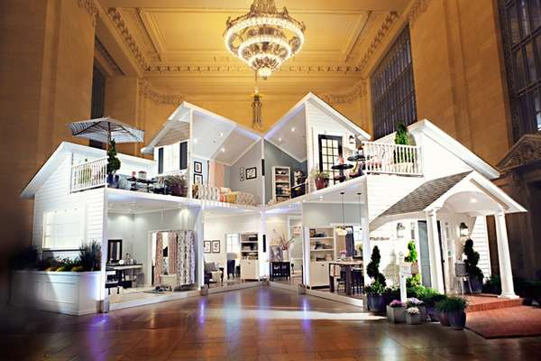 Life-Sized Dollhouse Installations