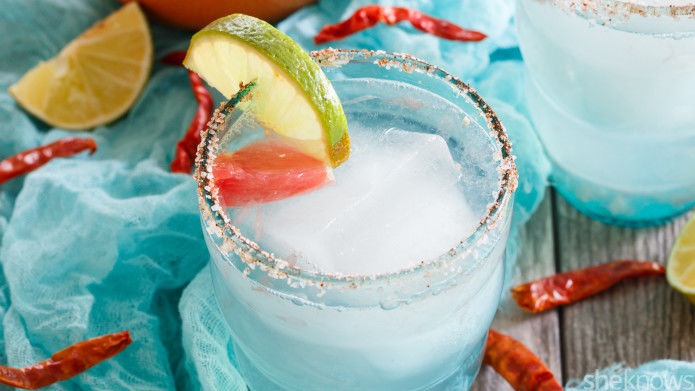 Spicy Citrus Margaritas