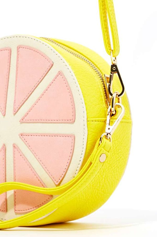 Exotic Grapefruit-Shaped Purses