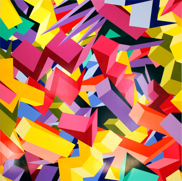 Dimensional Cubism Art