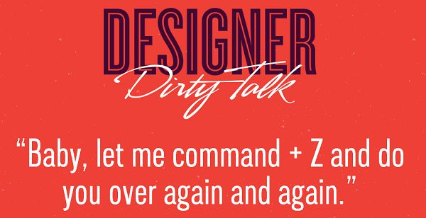 Designer Dating Lingo