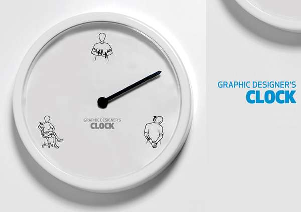 Graphic Designer s Clock