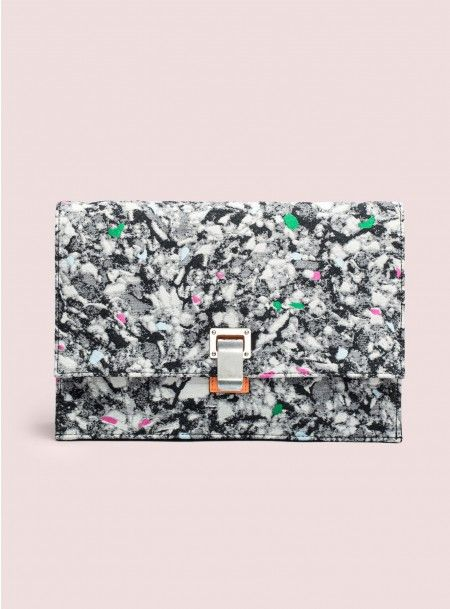 Graphic Envelope Clutches