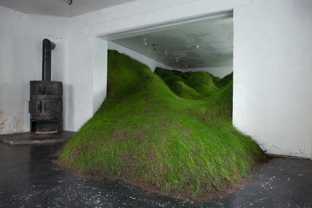 Grassy Indoor Installations