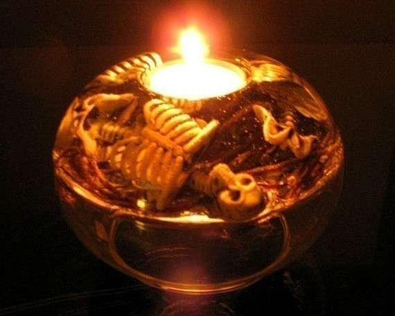Graveyard Shift Halloween Candle