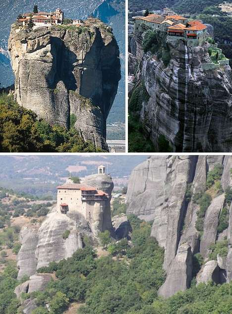 Gravity Defying Monasteries