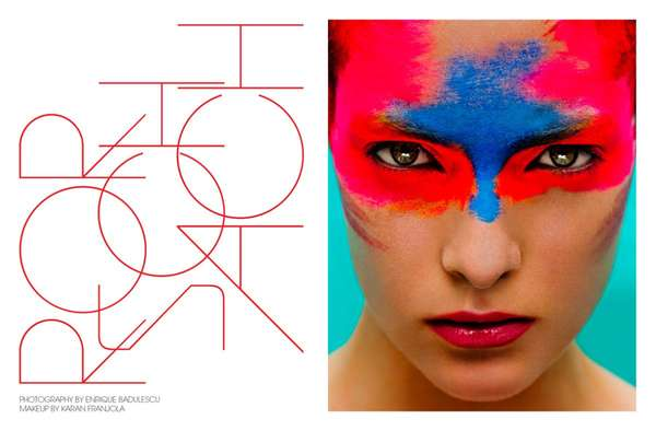 Ink Blot Beauty Editorials