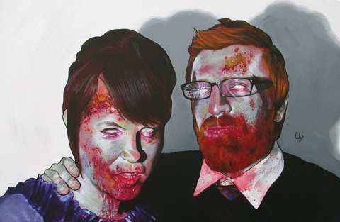Bloody Zombie Portraiture