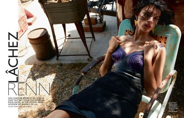 Glam Sweltering Editorials