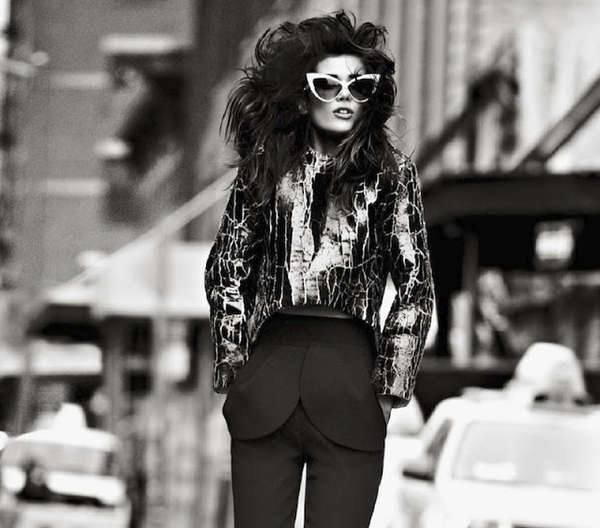 Graphic 80s-Inspired Editorials