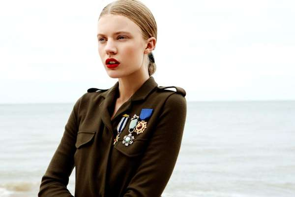 Seaside Military Fashion