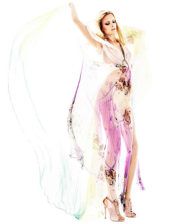 Feminine Fluttering Fashion