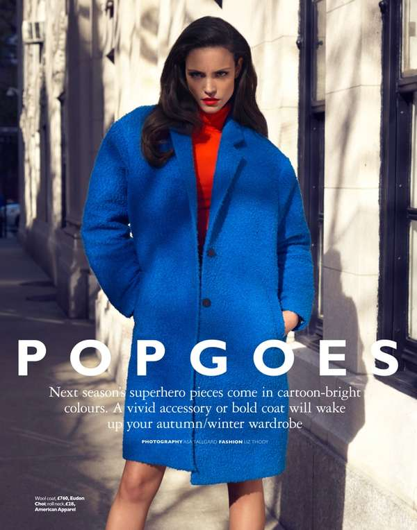 Grazia UK 'Pop Goes Autumn'