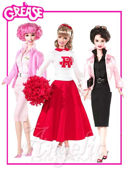 Classic Movie Dolls: Grease Barbies