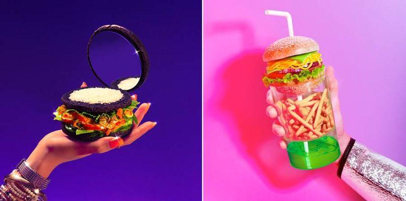 Glamorized Burger Art (UPDATE)