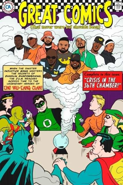 Unlikey Comic Covers