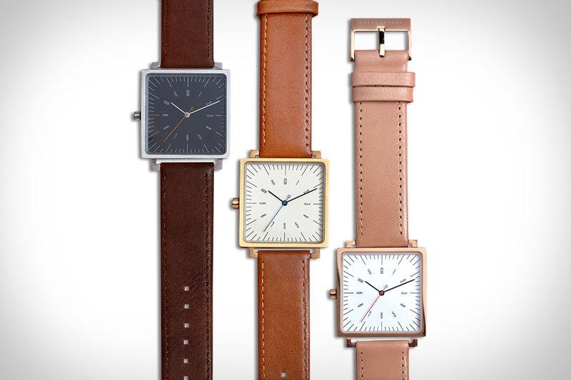 Bauhaus-Honoring Timepieces