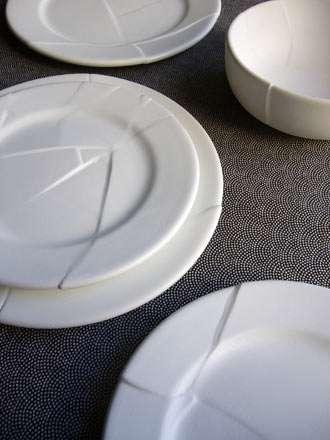 Pre-Broken Ceramics