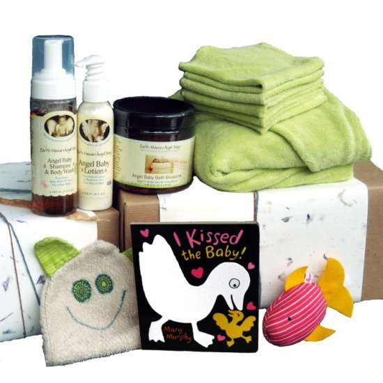 Green Baby Gifts Uk : Green baby gift boxes eco friendly sets make great