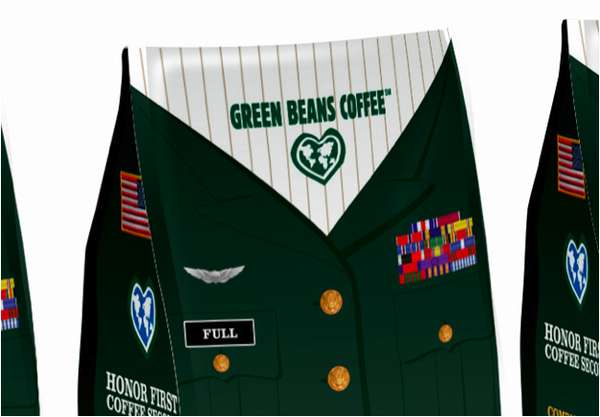 Green Beans Coffee Packaging