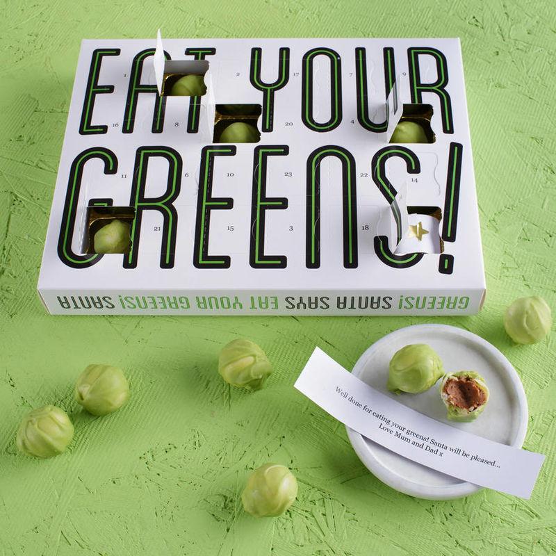 Green Chocolate Calendars