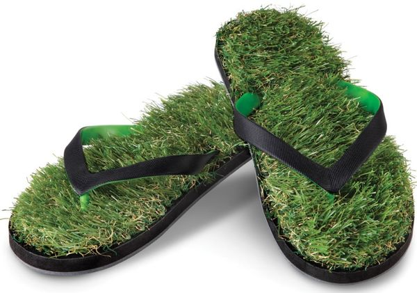 Synthetic Bladed Sandals