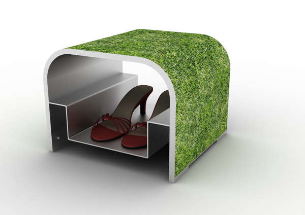 Grassy Stiletto Storage