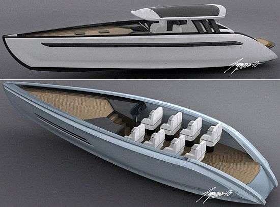 Green Luxury Yacht Concept