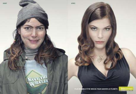 Stereotypical Cosmetics Ads