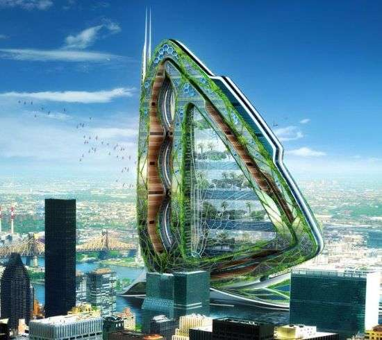 Bug-Styled Vertical Farms
