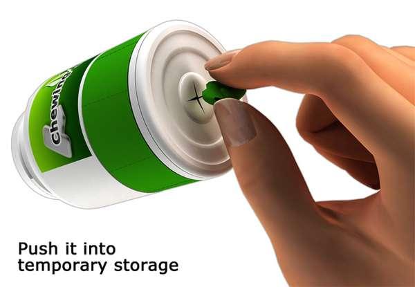 Portable Gum Garbages