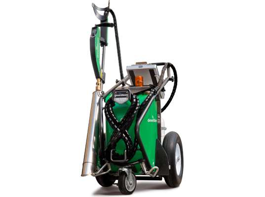Green Steam Weed Killer