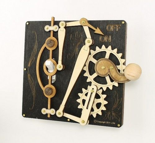 Steampunk Switches Green Tree Jewelry Light Switch Plates